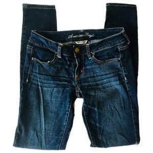 American Eagle dark wash Jegging jeans size 4